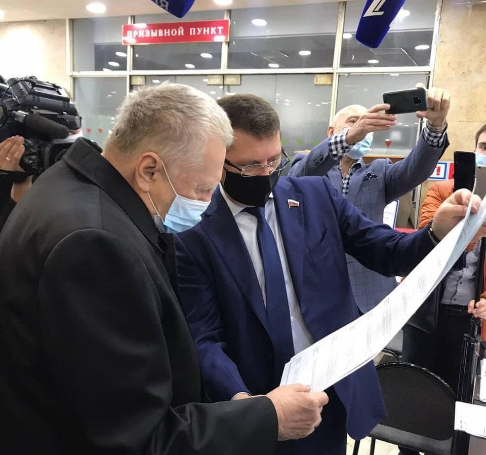 Владимир Жириновский и Сергей Жигарев